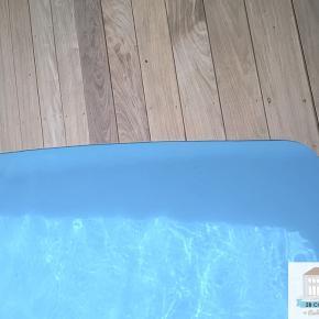 Construction terrasse bois Villefranche-sur-Saône, terrasse de piscine arrondie