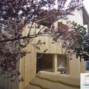 Extension maison bois Villefranche-sur-Saône, ossature bois